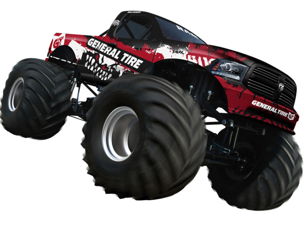 The General Tire monster truck will be fielded by Hall Brothers Racing.