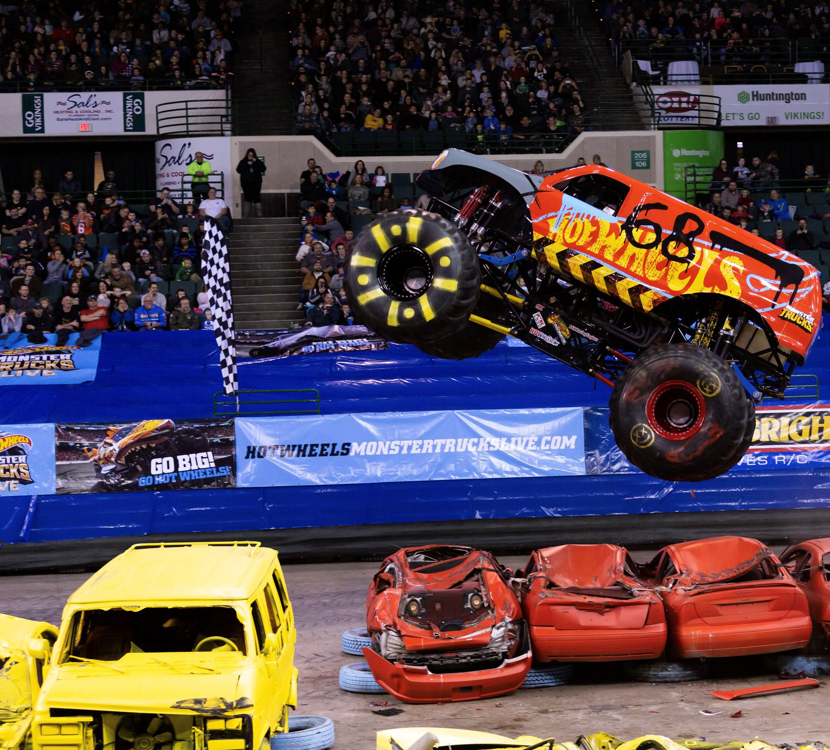 After the Foot teammates took the opening shows, Anson finally got the Demo Derby to stand tall on Sunday.