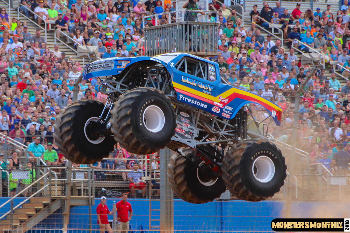 Bigfoot wowed the fans at the Back-To-School Monster Truck Bash in 2018!