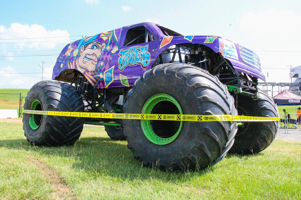 The Jester Monster Truck
