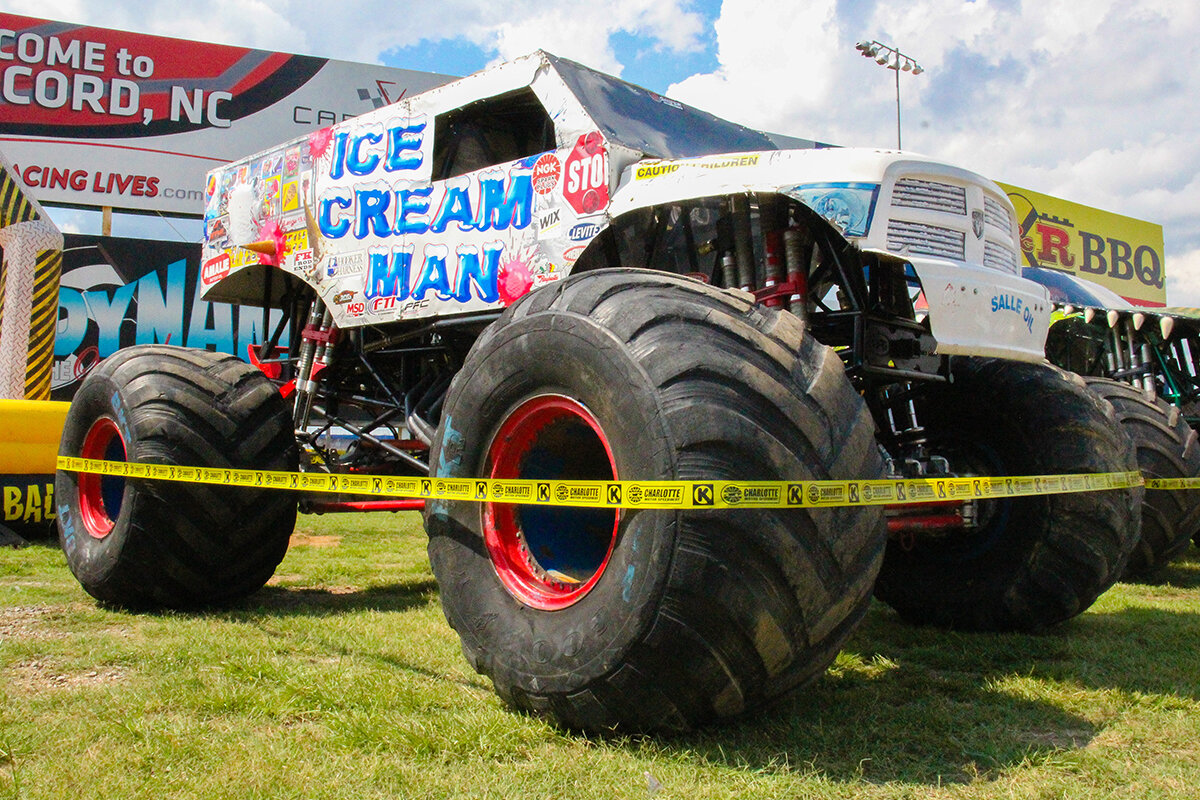 The Ice Cream Man Monster Truck