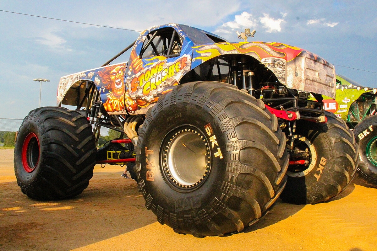The Stone Crusher Monster Truck