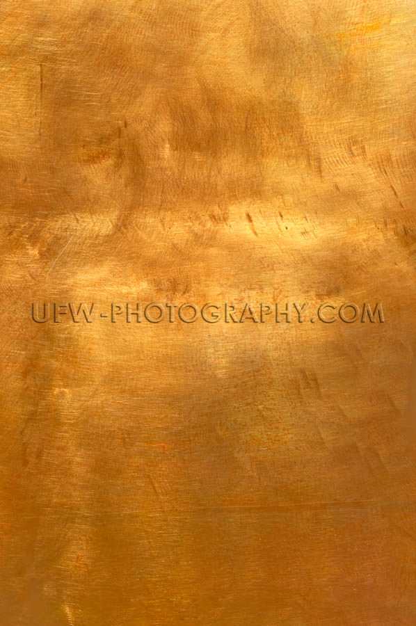 Abstract golden copper or bronze metal background XL Stock Image