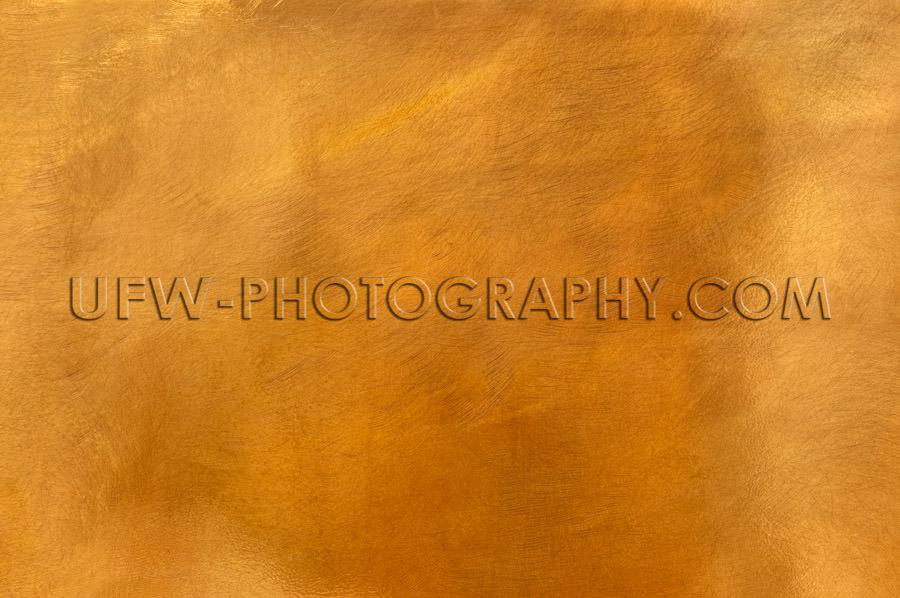 Golden brass metal plate background textured surface XL Stock Im