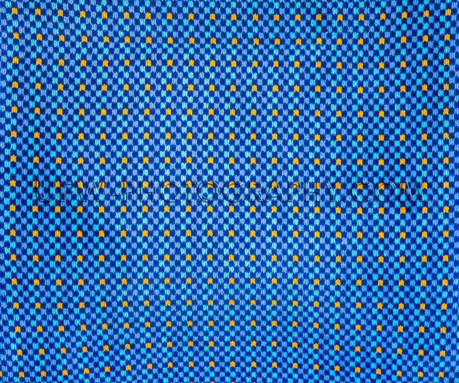 Blue yellow upholstery fabric texture geometric pattern full fra