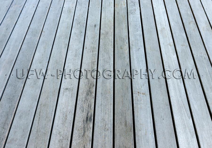Grau Verwittert Holz Terrasse Boden Vollformat Dielen Hintergrun