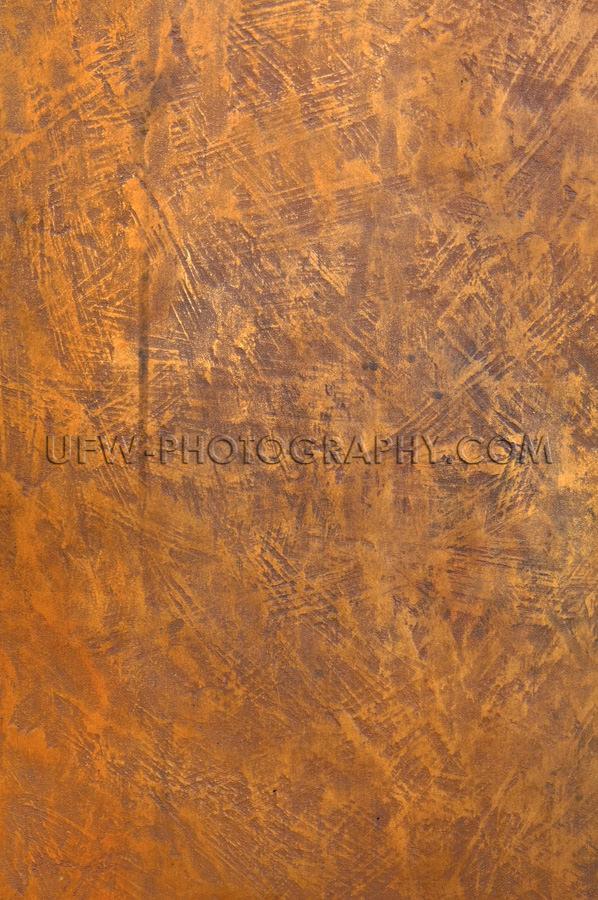 Grob Strukturierte Rot-Braune Kupfer Bronze Metalloberfläche St