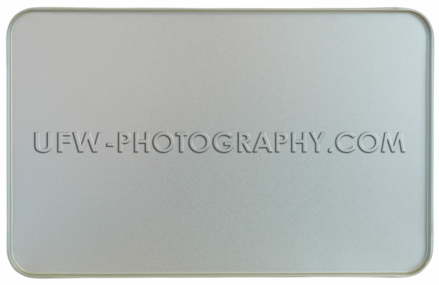 Silberblech Metall Rahmen Textur Gebördelt Hintergrund Stock Fo