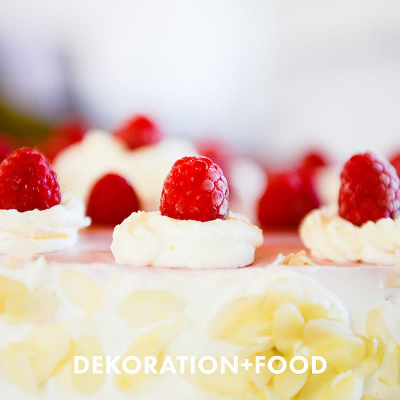 Dekoration und Food