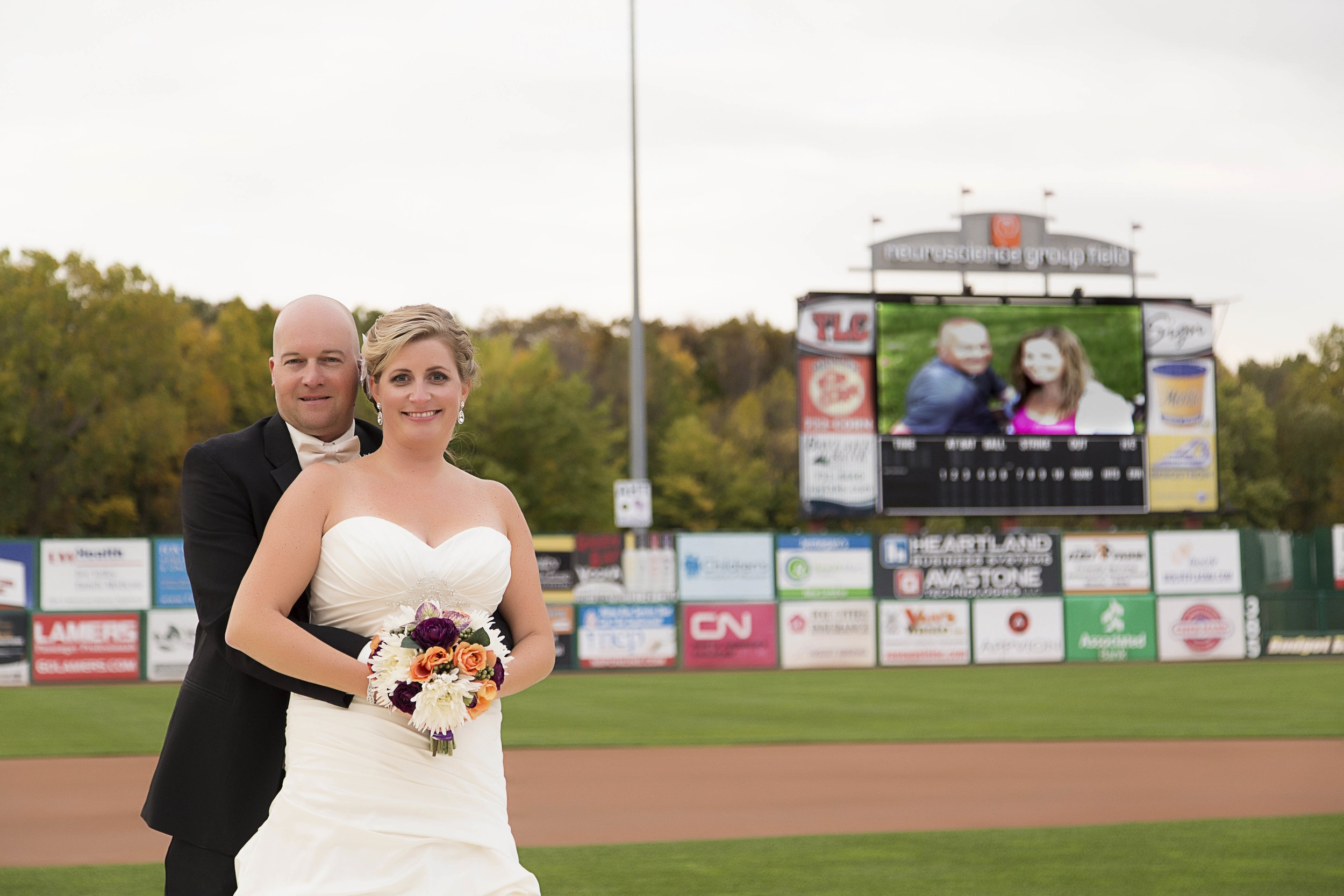 Wedding at the Ballpark