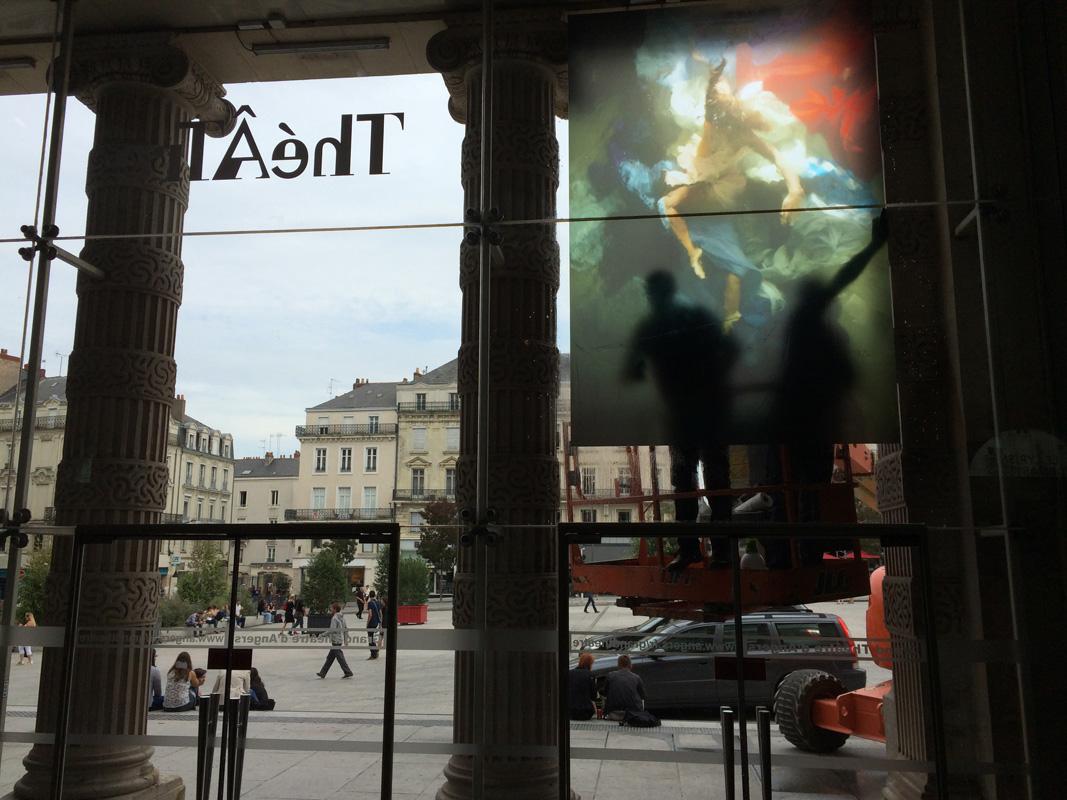 Christy Lee Rogers art exhibit Angers Opera France