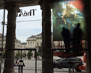 Angers Opera House Installation - Ten Arts - France