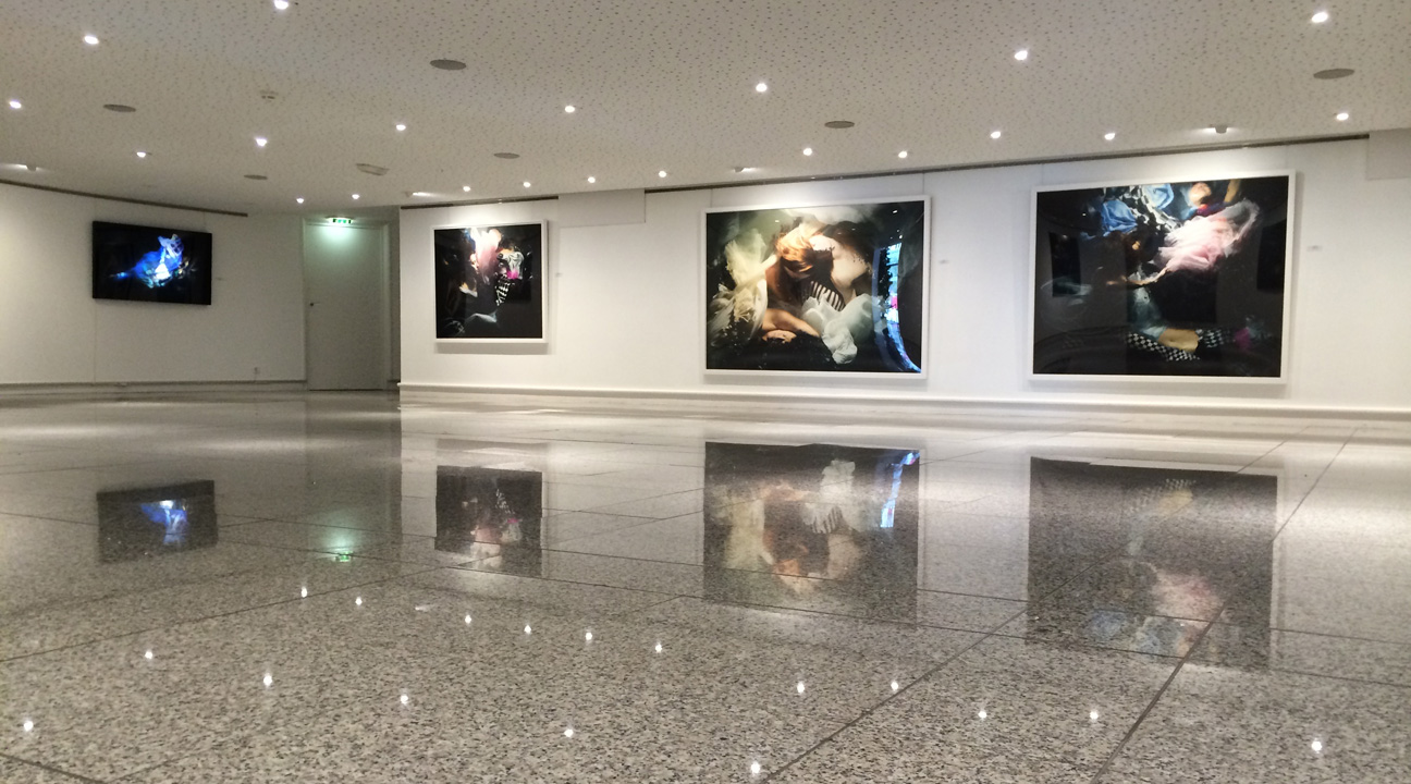 Christy Lee Rogers art exhibit Angers Opera House France