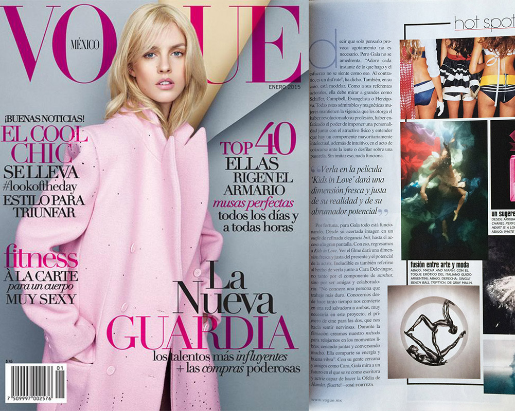 The Heart is a Lonely Hunter in Vogue Mexico, Courtesy LTB Gallery