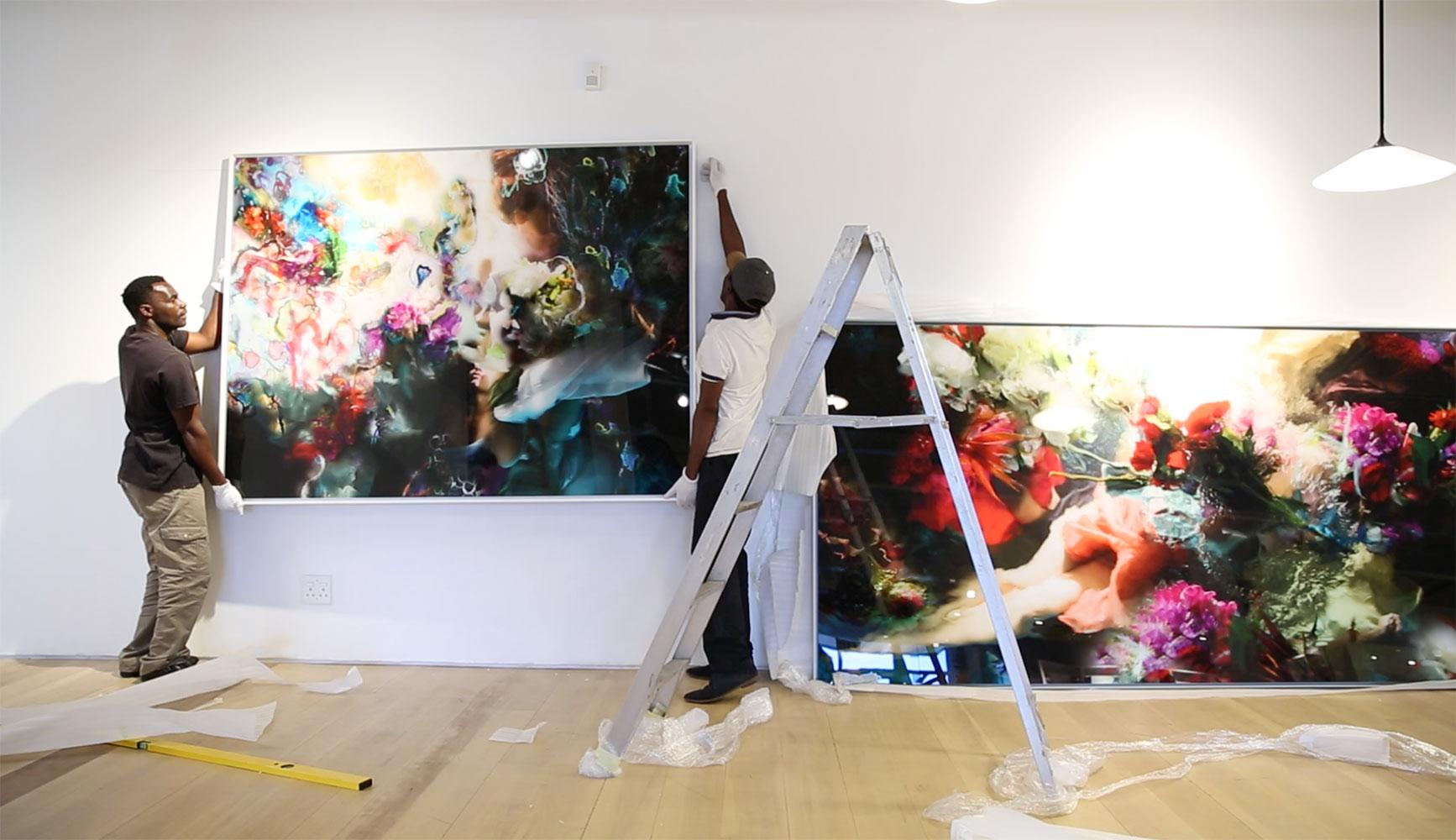 Hybrids Opening at Graham's Fine Art Gallery