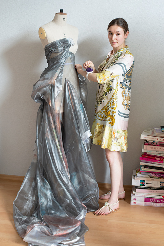 Christy Lee Rogers angel image selected for Jennifer Klein Couture