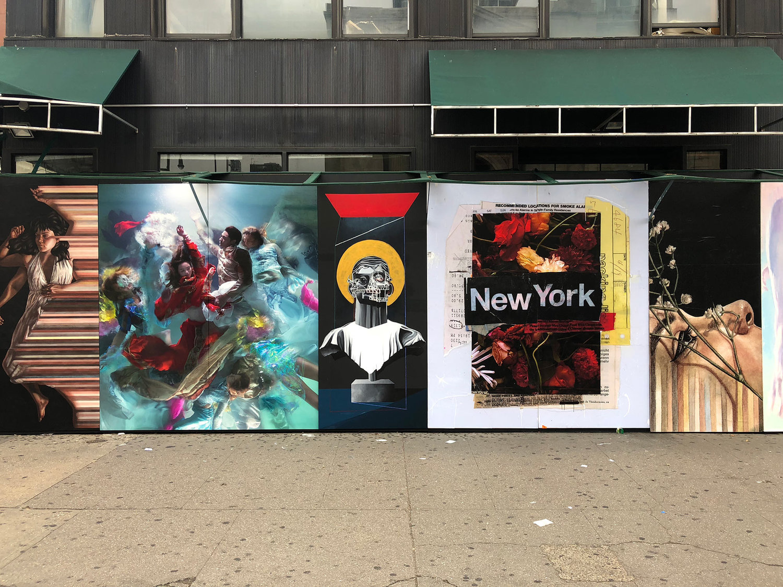 New York Street Installation