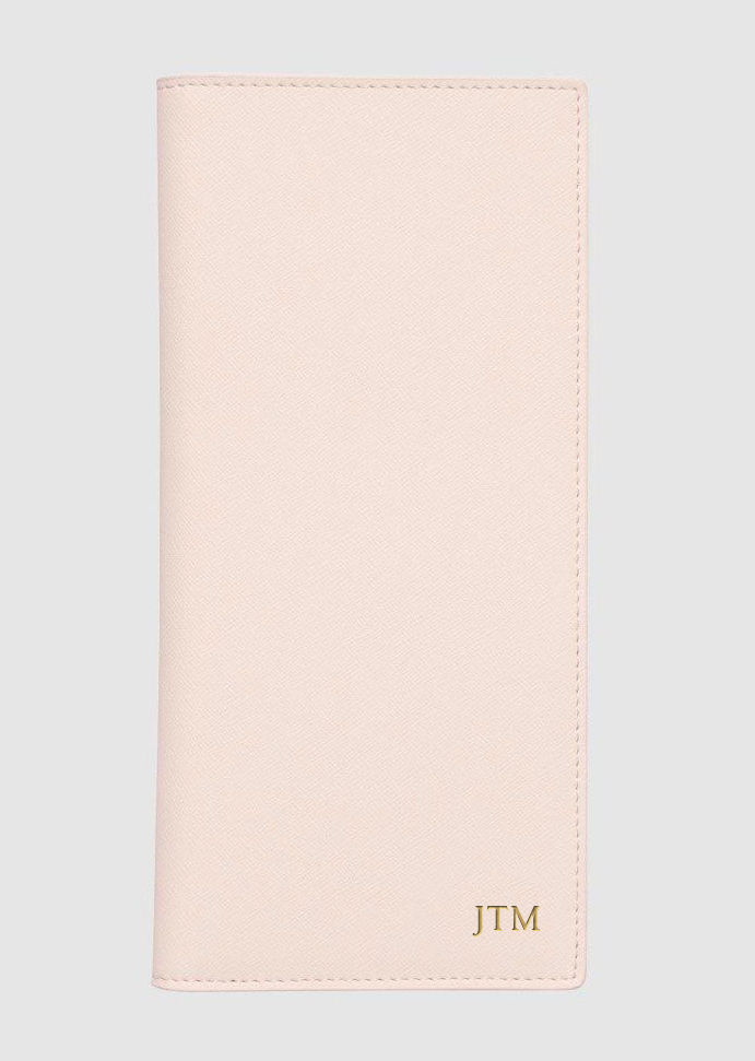 THE DAILY EDITED PALE PINK TRAVEL WALLET