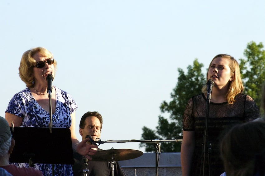 Singing with Sam Zucchini and Mallory Donnelly , concert with Jeanne O'Connor and the New Standard
