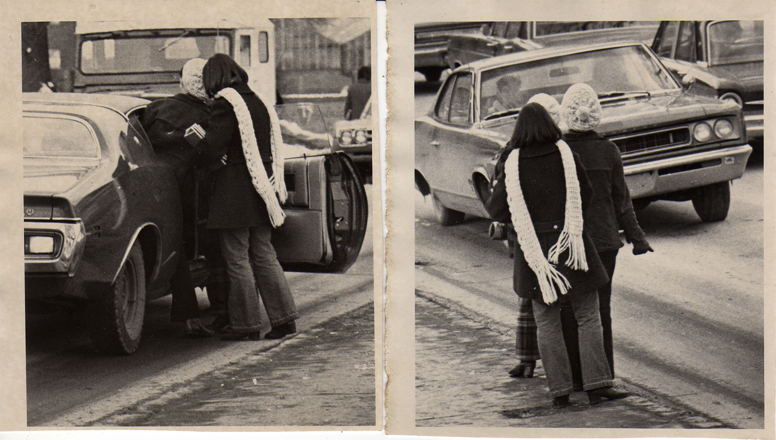 Morgantown hitchhikers, 1970 -  Dominion Post