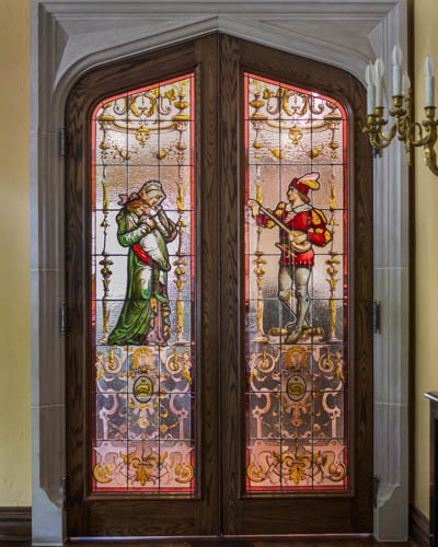 Restoration glass doors