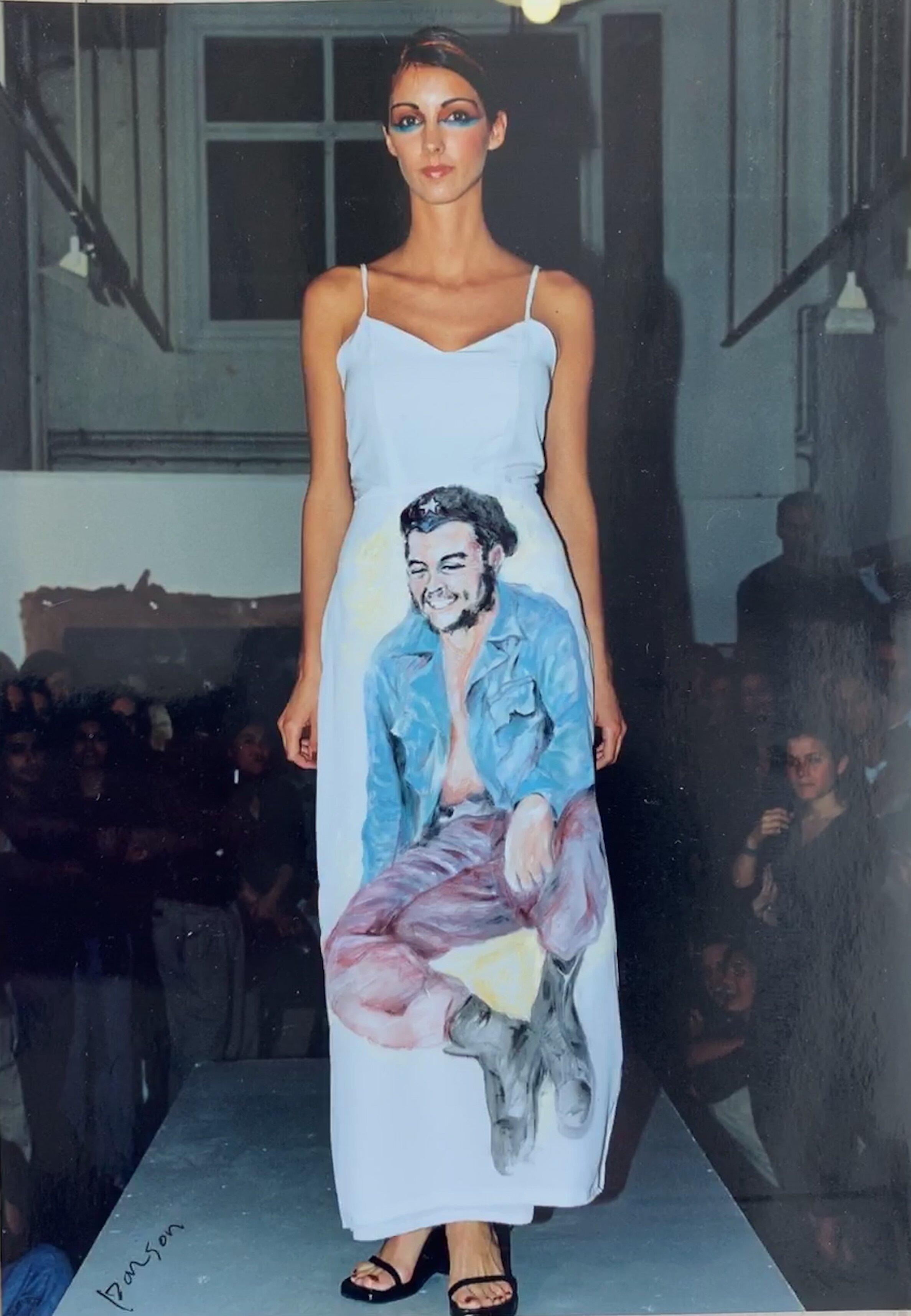 -                     Parson Paris School Fashion Show Che Dress 2000
