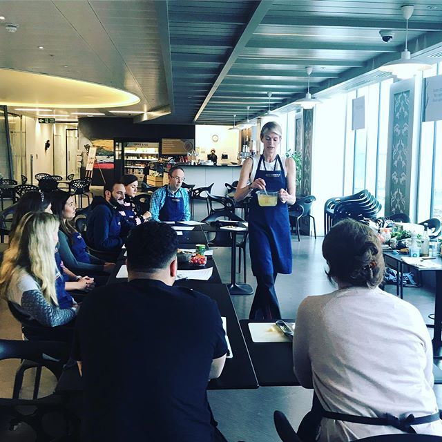 Thanks to my lovely audience today at Gazprom, we cooked up a storm! #healthyfood #healthyrecipes #health #feedyourhealth #nutrition #nutritionist #glutenfree #friday
