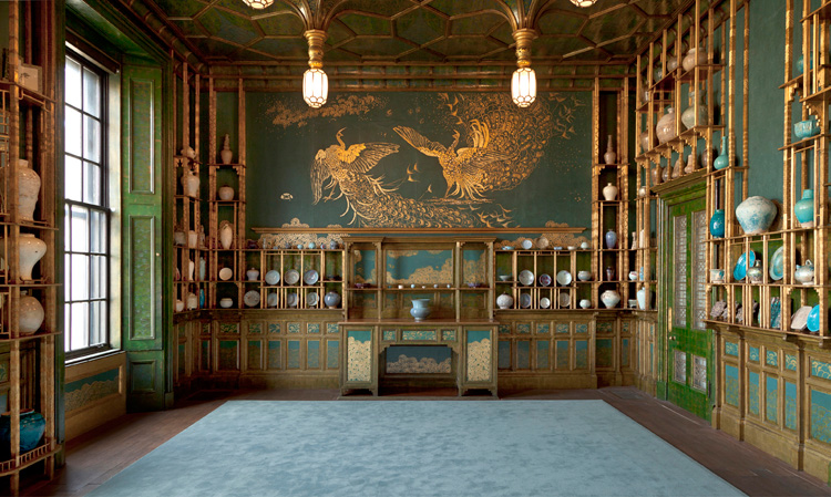 The Peacock Room at the Freer Museum