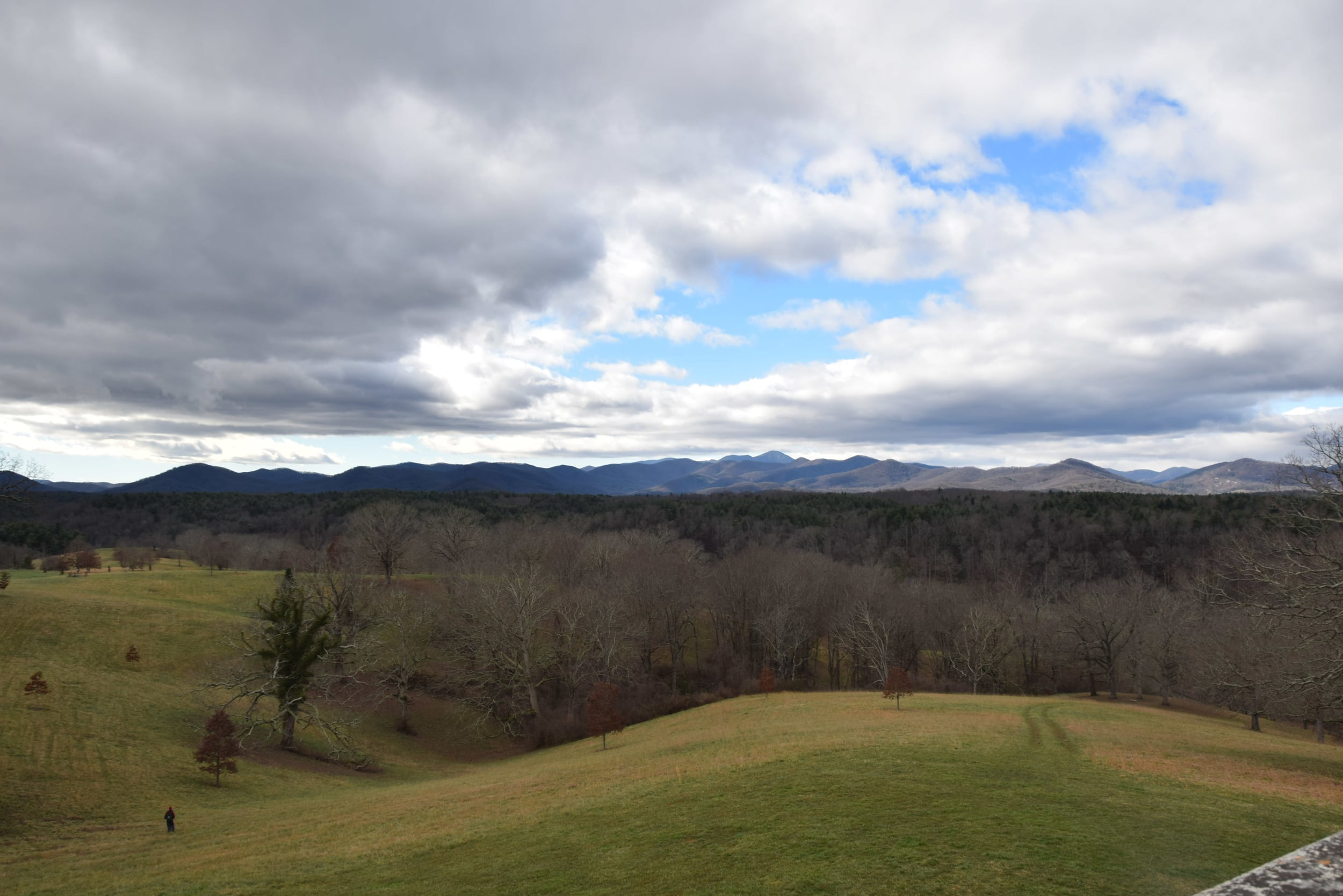 The Blue Ridge Mountains, no Photoshop or other alteration.