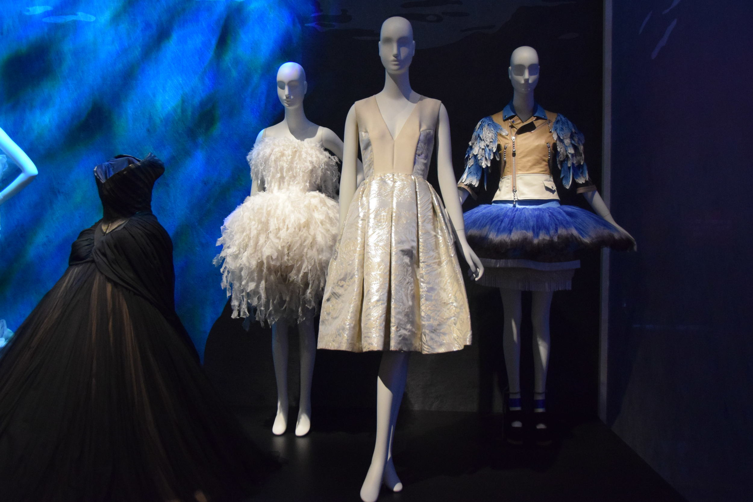 From L to R: Charles James (1954-55),Jean Louis Sabaji (2015),unknown,Undercover (2015)