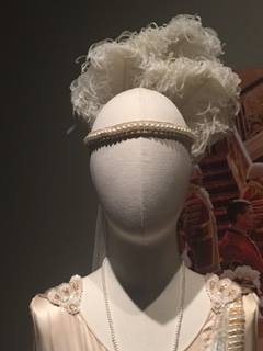 "headpiece worn by ""Madeleine Allsopp"", season 4"