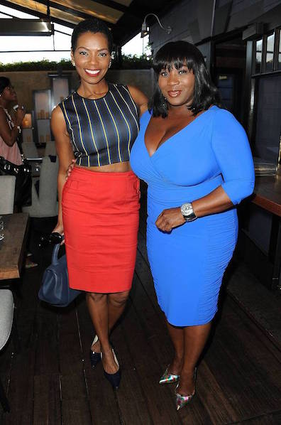 Actress Vanessa A. Williams and hostess Bevy Smith