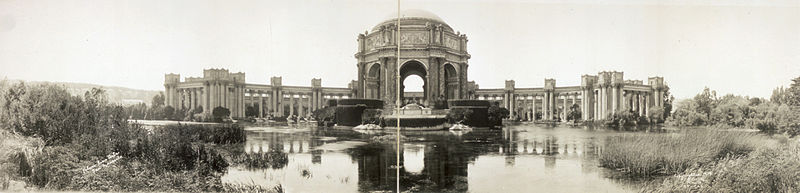 The Palace of Fine Arts, 1915