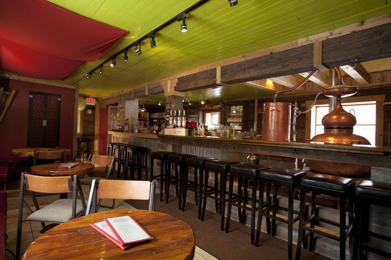Montanya Distillers' original Tasting Room in Silverton, CO (2008-2011)