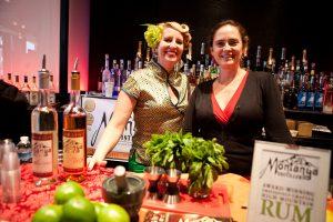 Montanya rum at their Indie Spirits booth