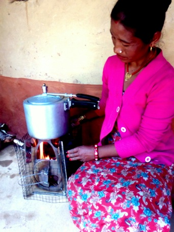 The Ganesha Cookstove Project provides low-income women with powerful, easy-to-use stoves.