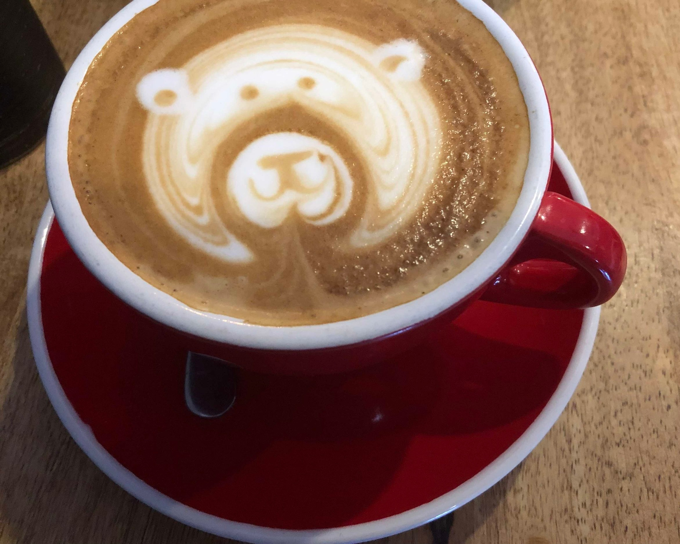 Coffee Art at 7tyone Cafe and Coffee Bar