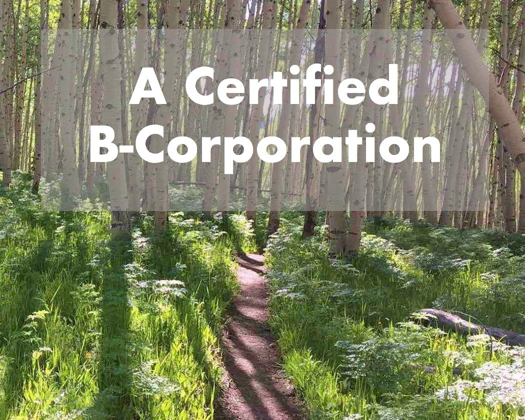 We're also the first Colorado distillery to become a certified B-Corporation.  Read more.