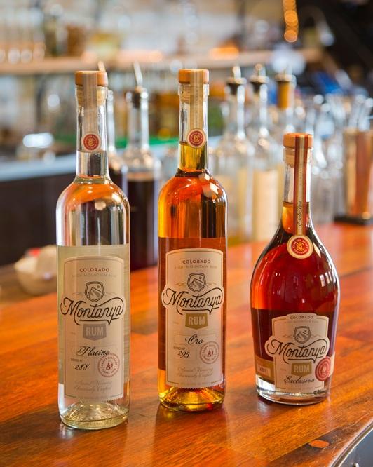 Montanya Distillers Handcrafted Rum.