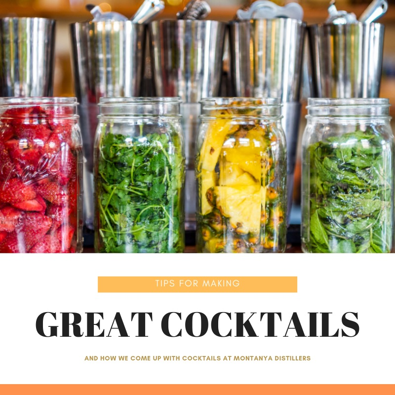 A blog post on  making great rum cocktails  (and how we do it at Montanya Distillers).