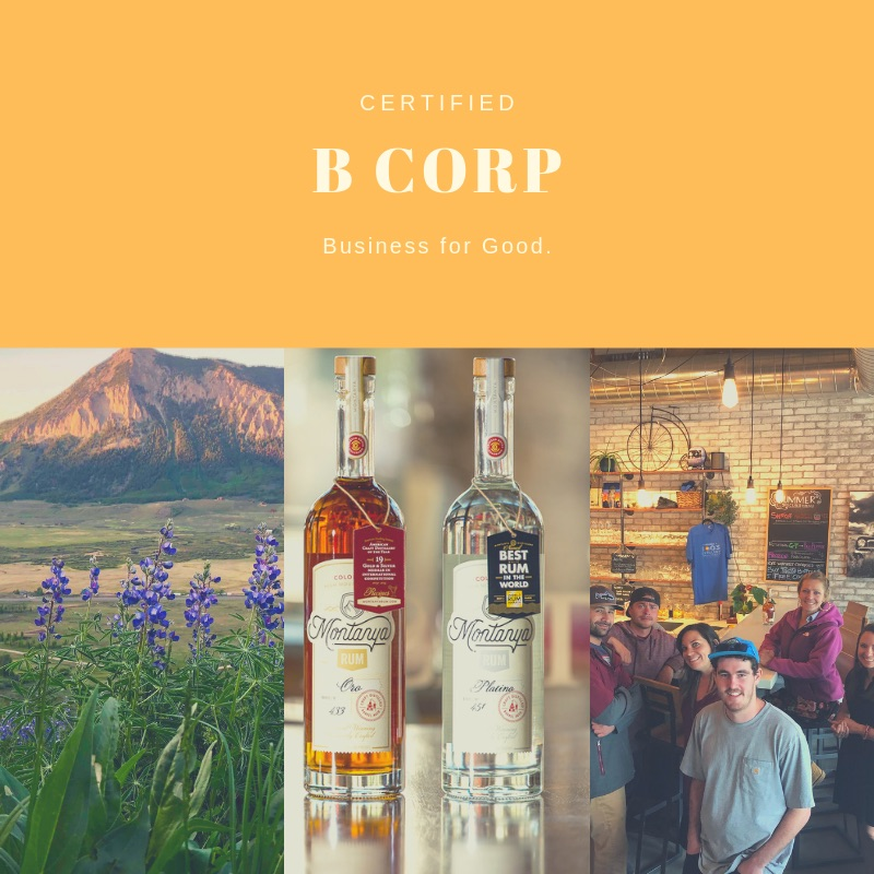 Read more  about becoming the first distillery in Colorado to earn recognition for putting people and the planet first.