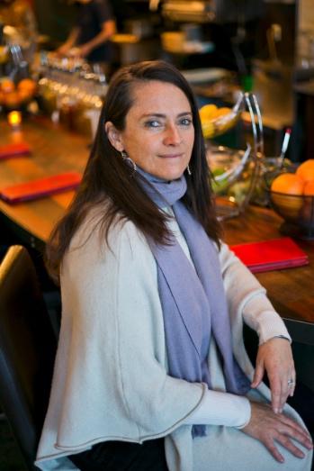 Karen Hoskin, an advocate for gender diversity in the world of spirits.