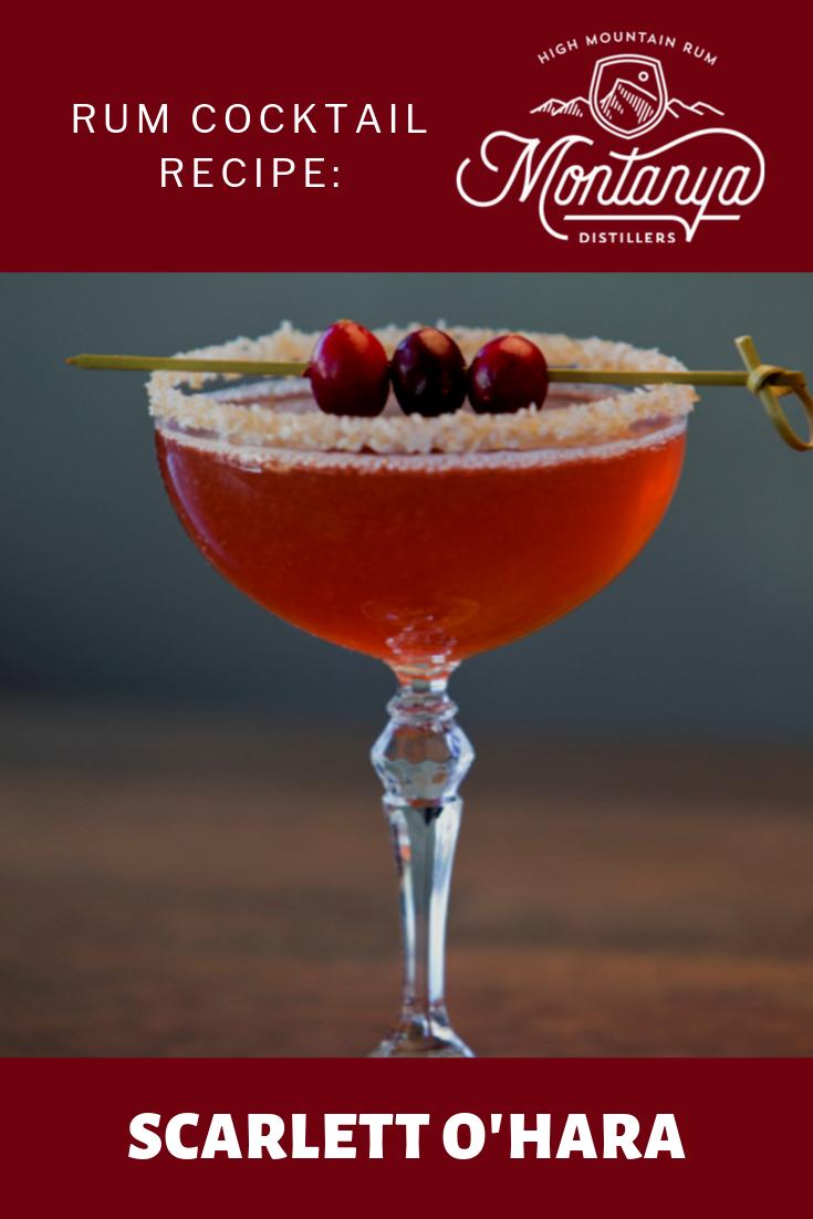 Scarlett O'Hara Rum Cocktail