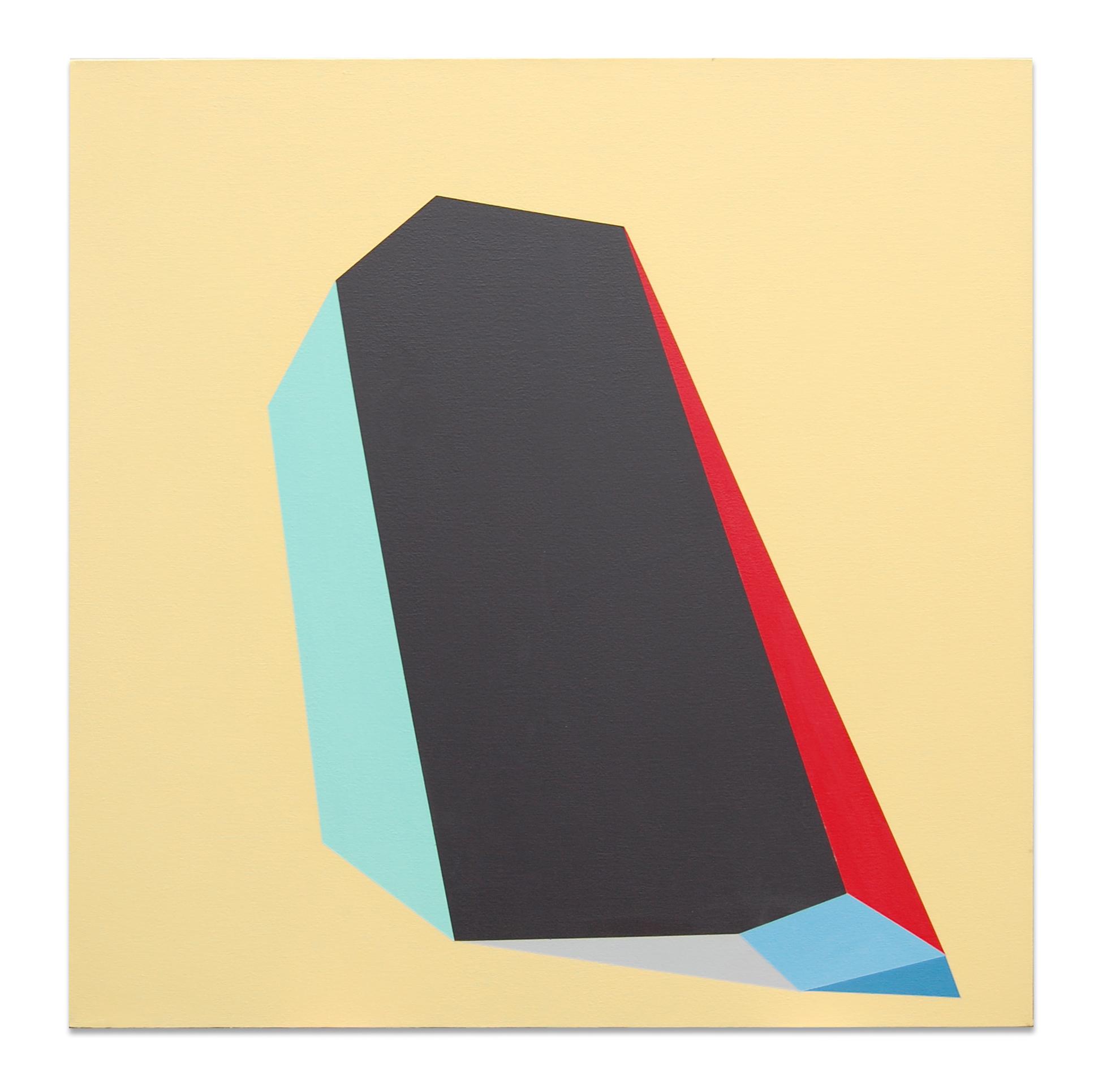 """Bean , 36""""x36"""", acrylic paint on canvas, 2012"""