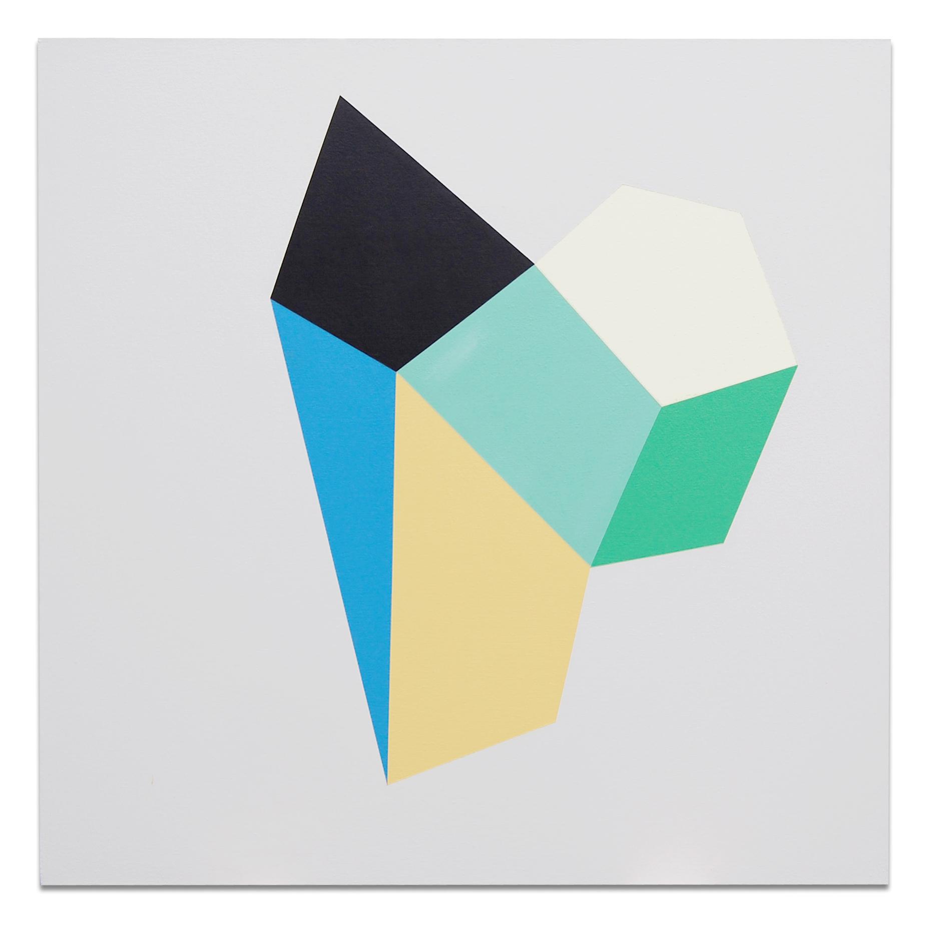 "Shoe , 36""x36"", acrylic paint on canvas, 2012"