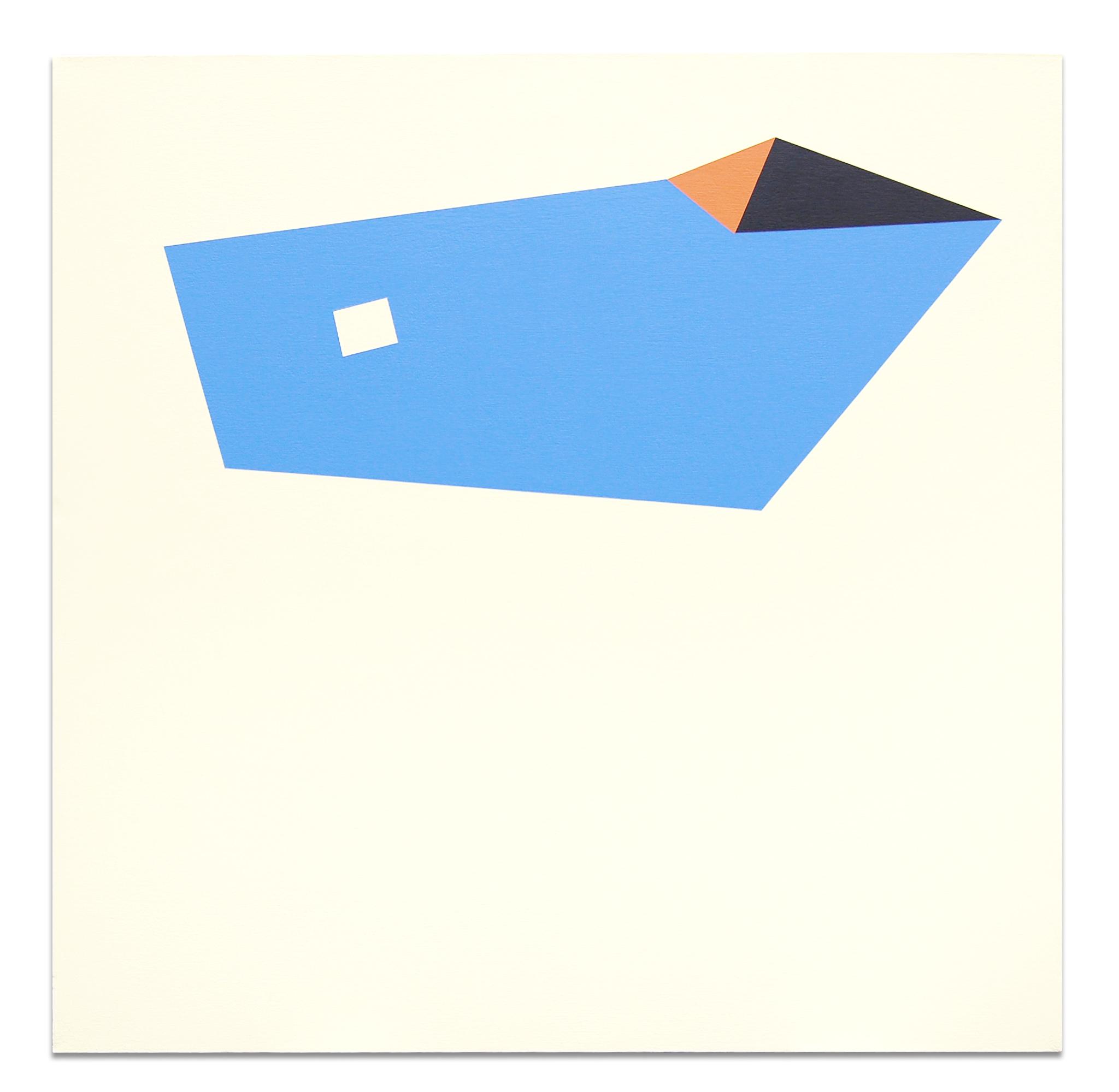 """Pip , 36""""x36"""", acrylic paint on canvas, 2012"""