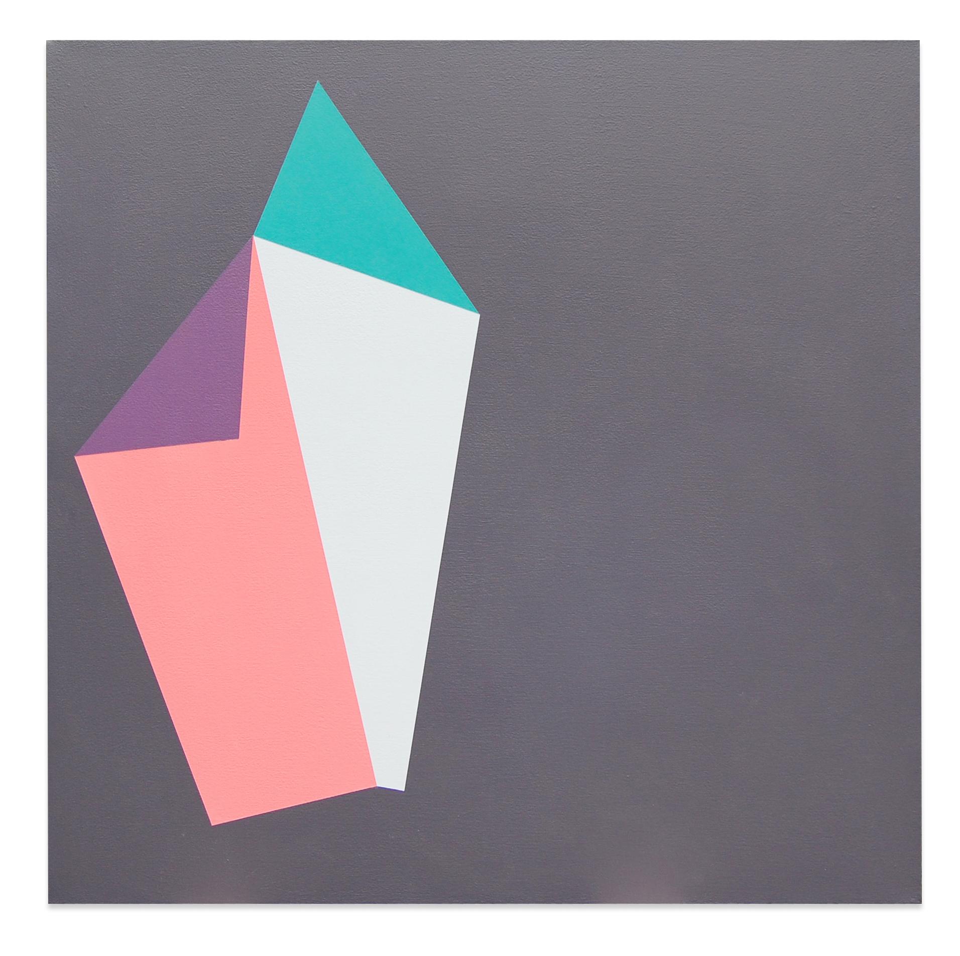 """Tricks , 36""""x36"""", acrylic paint on canvas, 2012"""