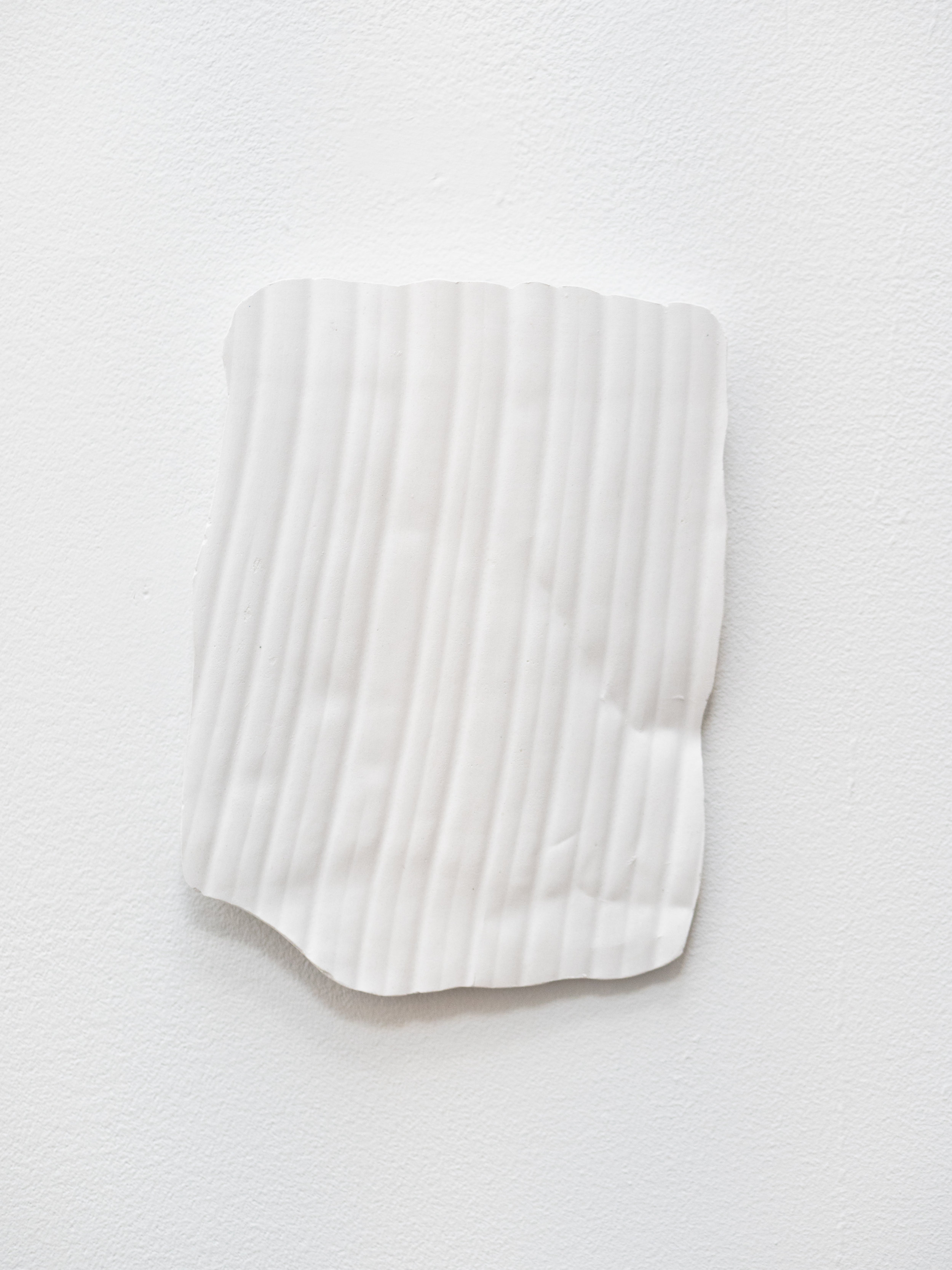 kamay mould, 2017, plaster, 6.5 x 5 inches