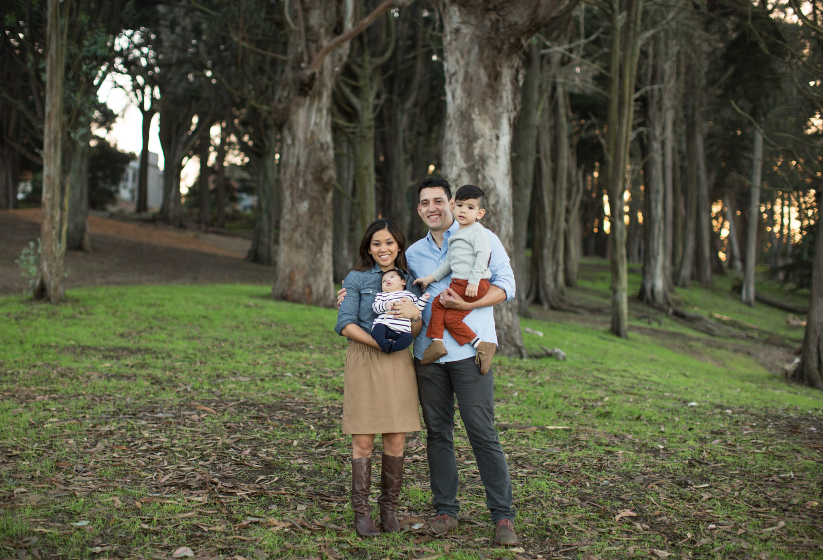 Presidio family portrait