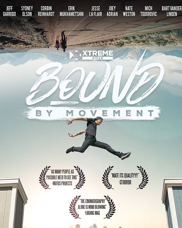 """⁉️🚨We need your help!🚨⁉️ . Last year we had the pleasure of Hosting Jesse La Flair, Erik Mukhametshin, Nate Weston, Sydney Olson, and many others while they were in town filming for the La Flair Lace-up tour... . The movie is officially out and winning awards all around!!! . We would LOVE to host a watch party here at Myth with our Myth Family (👉YOU!👈) and make an event out of it! . Since this is something we have not done prior we want to gauge interest right here before setting a date in stone. . You can help by commenting ⬇️""""MOVIE AT MYTH""""⬇️ so we can set a date before summer is over. . We are excited to host this watch party with you all showing some of the top Parkour athletes in the world showing what consistent hard work and perseverance can produce!"""